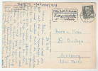 1954 DENMARK Stamps COVER (Postcard Copenhagen) - Denmark