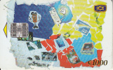 COSTA RICA - Collage of cards, ICE Tel telecard, 07/01, used