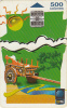COSTA RICA - Painting, ICE Tel telecard, 01/99, used