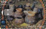 COSTA RICA - Pottery 1, ICE Tel telecard, 04/99, used