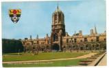 FRA CARTOLINA INGHILTERRA GRAN BRETAGNA ENGLAND GREAT BRITAIN GREAT QUAD AND TOM TOWER, CHRIST CHURCH, OXFORD VIAGGIATA - Oxford