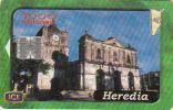 COSTA RICA - Heredia, ICE Tel telecard, 05/01, used