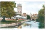FRA CARTOLINA INGHILTERRA GRAN BRETAGNA ENGLAND GREAT BRITAIN MAGDALEN TOWER AND BRIDGE, OXFORD NON VIAGGIATA CONDIZIONI - Oxford