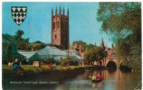 FRA CARTOLINA INGHILTERRA GRAN BRETAGNA ENGLAND GREAT BRITAIN MAGDALEN TOWER AND BRIDGE, OXFORD VIAGGIATA 1974 VERSO TRI - Oxford