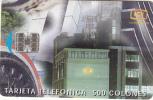 COSTA RICA - Telecom Building, ICE Tel telecard, 10/97, used