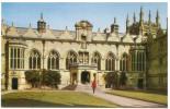 FRA CARTOLINA INGHILTERRA GRAN BRETAGNA ENGLAND GREAT BRITAIN ORIEL COLLEGE, OXFORD NON VIAGGIATA CONDIZIONI COME DA SCA - Oxford