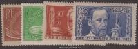 Série Chômeurs Intellectuels De 1936 Neufs * TB ( Y&T N° 330 à 333, Cote 34€) - Unused Stamps