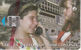 COSTA RICA - Telecom Operator, tirage 75000, 11/98, used