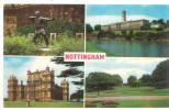 FRA CARTOLINA INGHILTERRA GRAN BRETAGNA ENGLAND GREAT BRITAIN  NOTTINGHAM ROBIN HOOD'S STATUE, THE UNIVERSITY, WOLLATON - Nottingham