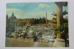 """(8/3/68) AK """"Rom"""" Volksplatz In Roma - Places & Squares"""