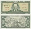 Cuba Pick 102# 1 Peso (1967-88) UNC
