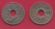 FRANCE, 1919, 1 Circulated Coin Of 10 Centimes. Copper Nickel  , KM866A, C2874 - France