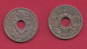 FRANCE, 1922, 1 Circulated Coin Of 10 Centimes. Copper Nickel  , KM866A, C2876 - France