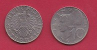 AUSTRIA, 1975, 1 Circulated Coin Of 10 Schilling, Copper Nickel,  KM2918, C2939 - Austria