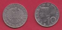 AUSTRIA, 1984, 1 Circulated Coin Of 10 Schilling, Copper Nickel,  KM2918, C2940 - Oostenrijk