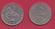 AUSTRIA, 1972, 1 Circulated Coin Of 5 Schilling, Copper Nickel,  KM2889a, C2943 - Oostenrijk