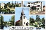 78 - Yvelines - Carrieres-sur-Seine - Multivue - Carrières-sur-Seine