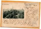 Souvenir De Riga 1898 Postcard - Letonia