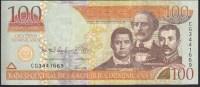 Dominicana 100 Pesos 2012 P184b UNC - Dominicaine