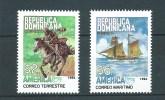Dominikanische Republik   **  , 1710 - 11, Postbeförderung - Dominicaanse Republiek