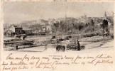80   Mondidier, Vue Générale, La Gare Carte Précurseur Année 1902  Libraire L Vallée - Montdidier