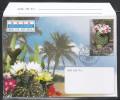 Nordkorea 2004, Aerogramm Kaktus, Mit SoStpl. / Nordkorea 2004, Aerogramme, Cactus, With Spec. Postmark - Sukkulenten