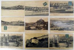 43 Aurec Sur Loire  70 cartes postales +1 photo TOUT SCANNE collection d'un ancien et ses 55 ans de recherche dont RARES