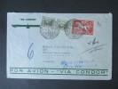 Uruguay 1936 Luftpostbeleg Nr. 531 MiF. Siemens & Halske Berlin. Via Condor!! Toller Beleg! - Uruguay
