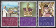 Bermuda    Scott No  347-49   Mnh   Year 1977 - Bermuda