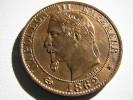 Napoléon III : 5 Centimes 1862 A : état Exceptionnel - France
