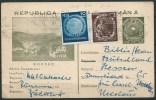 B.15.OCT.294.   BRIEFKAART  VERSTUURD  DOOR  ROEMENIË. 1953.   BORSEC.   BIJ-FRANKERING. - Covers & Documents