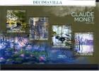 L596, REP. CENTROAFRICANA, 2014, CLAUDE MONET - Impresionismo