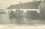 Ramp Der Overstroomingen Van 12 Maart 1906  Vernielde Werkmanswooningen Te Moerzeke  (730) - Hamme