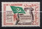 MAURITANIE  N� 154  NEUF*INFIME TRACE DE CHARNIERE