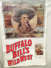 AFFICHE  BUFFALO  BILL'S WILD WEST    75 X 115 PLIEE