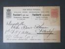 Finnland 1892 Ganzsache / Doppelkarte P 24. Soldatenbrief. Tolles Stück. Gut Erhalten!! - Covers & Documents