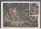 FRANCE - 1376 Sur Carte Maximum - 1960-69