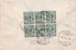 """Brief 1919 Von """"GENOVA / FERROVIA"""" Nach Bern / Schweiz - 1900-44 Vittorio Emanuele III"""