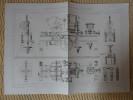 MACHINE A FABRIQUER LES CHAINES A MAILLONS DOUBLES PAR M. WEISSENBORN Publication Industrielle - Tools