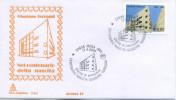 ITALIA - FDC  CAPITOLIUM  2004 - GIUSEPPE TERRAGNI - ANNULLO SPECIALE - 6. 1946-.. Repubblica