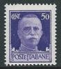 1929-42 REGNO IMPERIALE EFFIGIE 50 CENT MNH ** - IM3-2 - Mint/hinged
