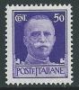 1929-42 REGNO IMPERIALE EFFIGIE 50 CENT MNH ** - IM3-4 - Mint/hinged