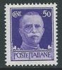 1929-42 REGNO IMPERIALE EFFIGIE 50 CENT MNH ** - IM3-5 - Mint/hinged