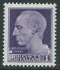 1929-42 REGNO IMPERIALE EFFIGIE 1 LIRA MNH ** - IM4 - 1900-44 Victor Emmanuel III