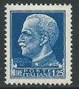 1929-42 REGNO IMPERIALE EFFIGIE 1,25 LIRE MNH ** - IM5-6 - 1900-44 Victor Emmanuel III