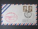Argentinien 1954 Luftpost. 25 Aniversairio Del Primer Vuelo / Erstflug. Buenos Aires - Miami - Argentinien