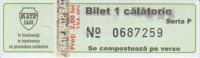 Bus/Tramway RATP Iasi Tranportation Ticket One Way Ticket - Europe