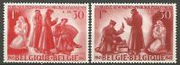 BELGIQUE N° 623 / 624 NEUF* TRACE DE CHARNIERE / MH - Belgien