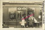 Carte Postale Photo-commerce-années 20-restaurant Café Liqueurs Vins-BOTTIN-signé Ernest-une Juliette Nommée - Professions