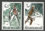 BELGIQUE N° 1296 / 1297 NEUF* TRACE DE CHARNIERE / MH - Belgien